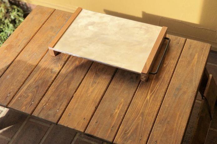 これ 試したい マイクロチェアをカスタムした 焚き火テーブル 風 サイドテーブル Camp Hack キャンプハック サイドテーブル キャンプ テーブル Diy テーブル