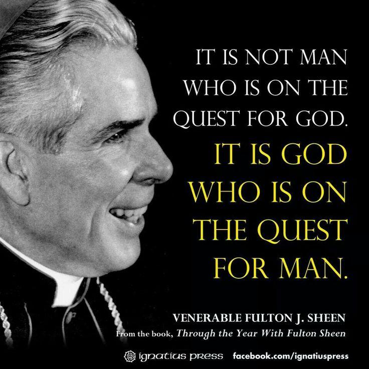 Bishop Sheen Quotes: Fulton J. Sheen Quotes. QuotesGram