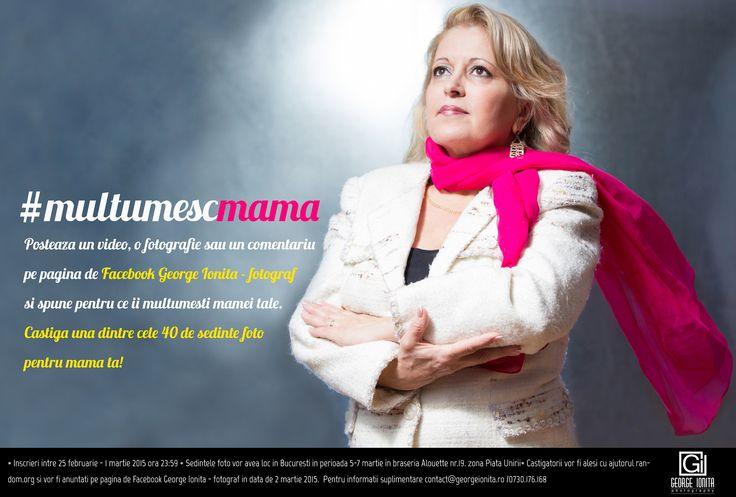 Castiga o sedinta foto pentru mama ta #multumescmama