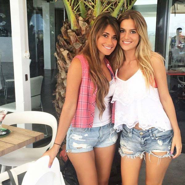 Antonella Roccuzzo, Lionel Messi WAGs