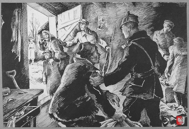 The Russians at the door. Feb. 10, 1940 (Photo: courtesy Kresy-Siberia Foundation.)