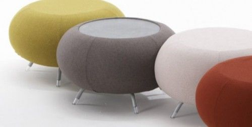 Modern Furniture : Pebble by Allermuir