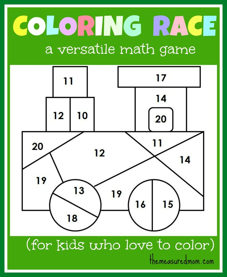 Color race. Personal Idea: Put equations on a flash card and they have to color the space the color that has the answer. One for each times-table?