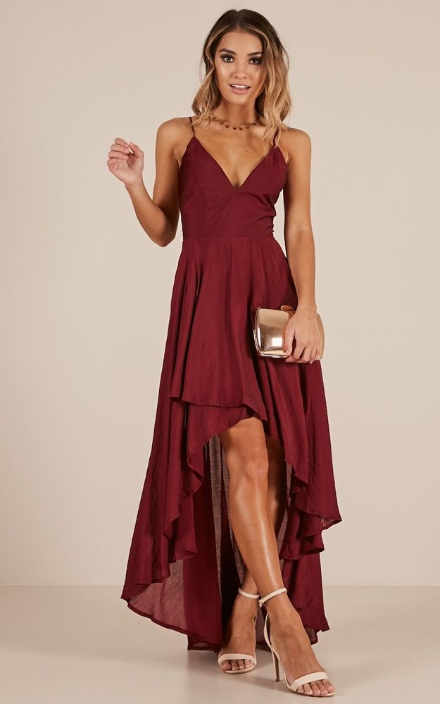 9bdbbe97ad8 Make You Smile Dress In Wine Produced in 2019