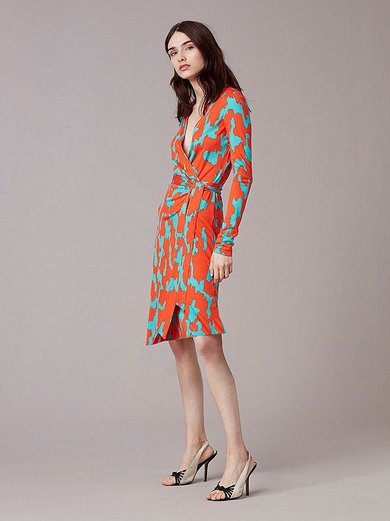 35e13f874b8 Julian Banded Silk Jersey Wrap Dress | Clothes I like | Fashion ...