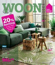 Leen Bakker Nederland (NL) - Folder week 15 2017 - Eetkamerstoel Elena - wit