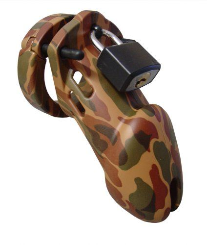 CB-X CB-6000 35 mm Camouflage Chastity Cage