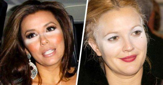 25 Mujeres que deberían tener estrictamente PROHIBIDO usar corrector para los ojos