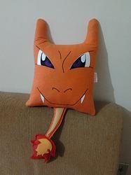 Handmade Anime Pokemon Charizard Plush Pillow $27.95…