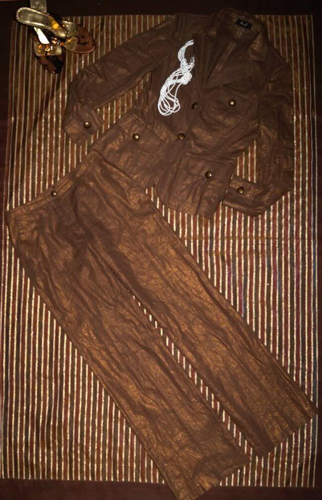 Miss H elegancki garnitur SPODNIUM LEN 34-36 (4986279803) - Allegro.pl - Więcej niż aukcje.
