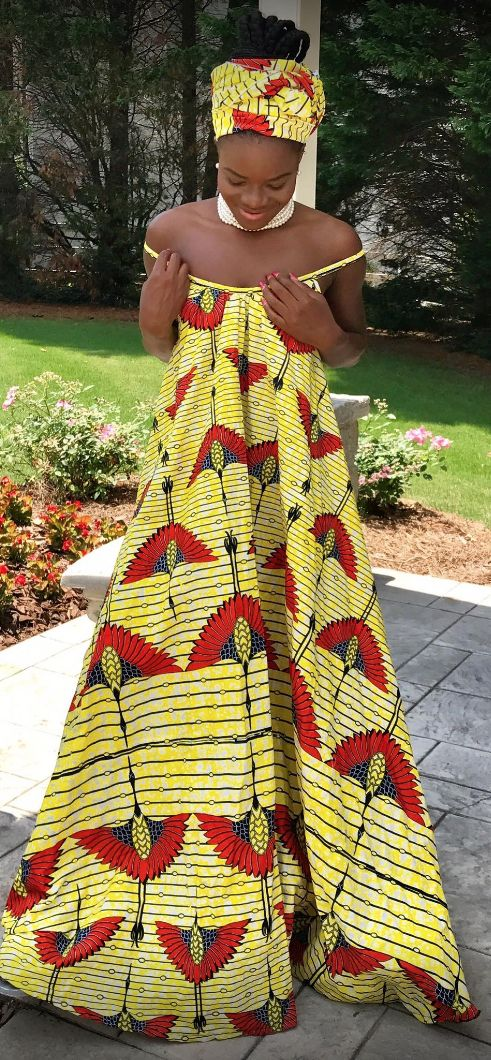 Lili creation is a young designer from Ivory Coast.