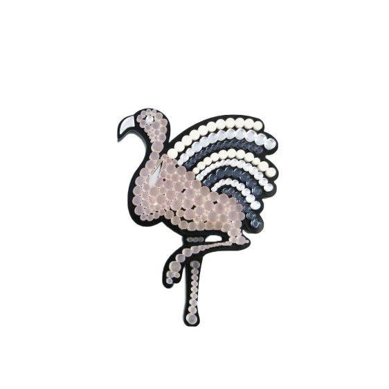 Flamingo brooch   $60   #UnderOurSky