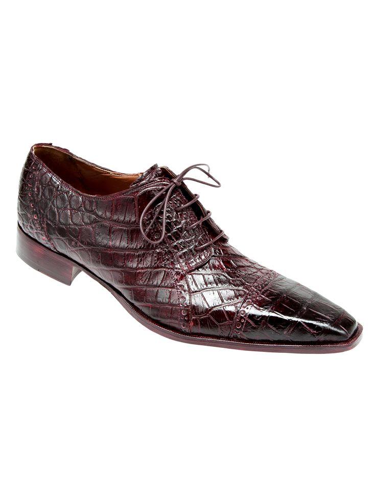 Mens Shoe Alligator