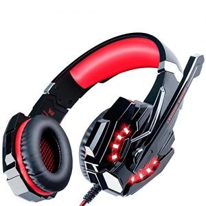 ECOOPRO Gaming Headset PS4 Headset Gaming Headphones with Microphone, LED Lights…