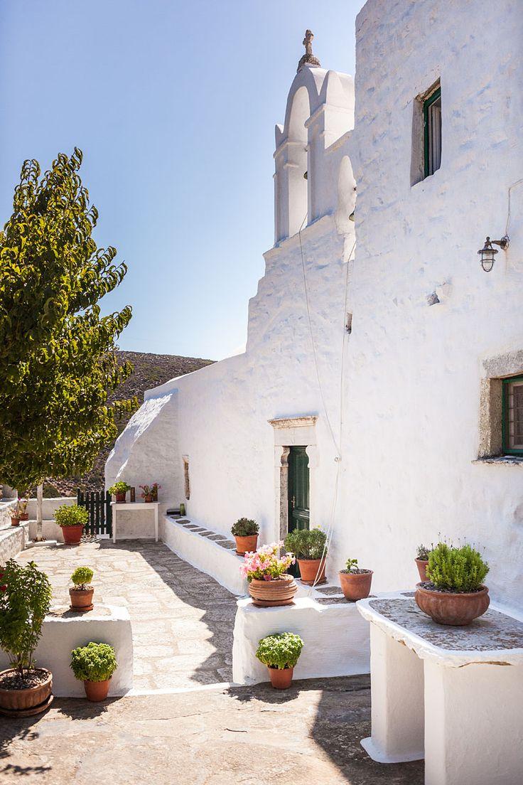 Agios Georgios Valsamitis Monastery - Amorgos, Greece