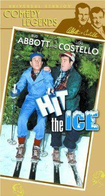 Abbott und Costello auf Glatteis (1943) Poster