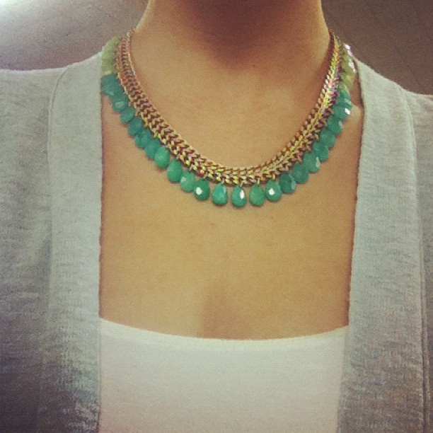 Contessa Jade Necklace by Stella & Dot http://bit.ly/SDnck