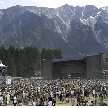 Pemberton Music Festival  BEST music fest of life!  Jay Z, Metric, NIN, Tom Petty, NERD, My Morning Jacket, Serj, Wintersleep, SIA- the list goes on!  I wish they had it more than one time- PEMB FEST '08 was epic- a time I will never forget!