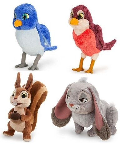 Amazon.com: Sofia The First - 4 Character Plush Collection (Clover, Mia, Whatnaught & Robin: Toys & Games