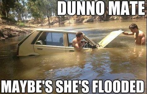 On car troubles: | 29 Of The Funniest Memes About Australia