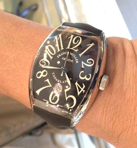 ★Y様/フランク ミュラー - カサブランカ ☆時計は文化の一部です。時計を見ると、購入した当時の事を思い出します!  〝人生の節目に腕時計を〟