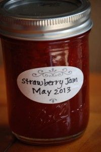 How to Can Strawberry Jam - this has a nice video with it for any beginning canners out there!