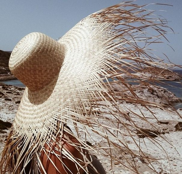 sunhat from Cyclades, Greece