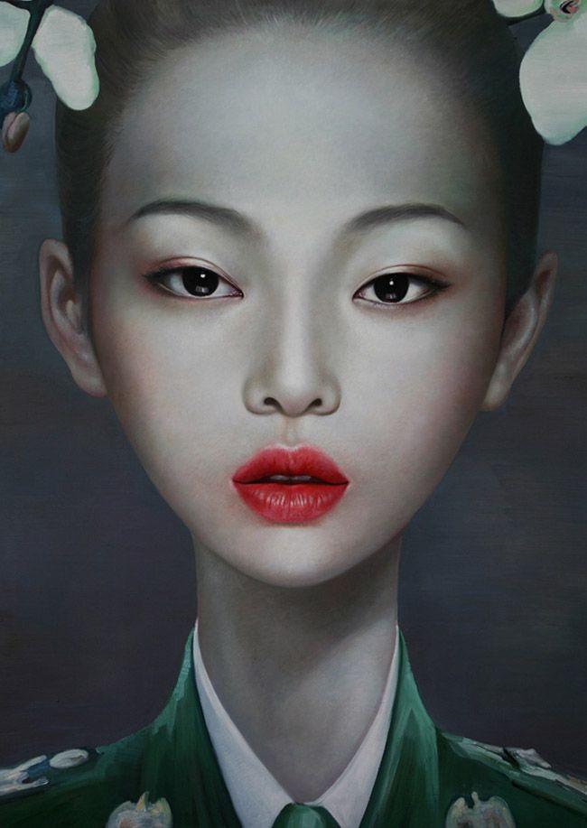 Florilège: LING JIAN - PEINTRE - CHINE