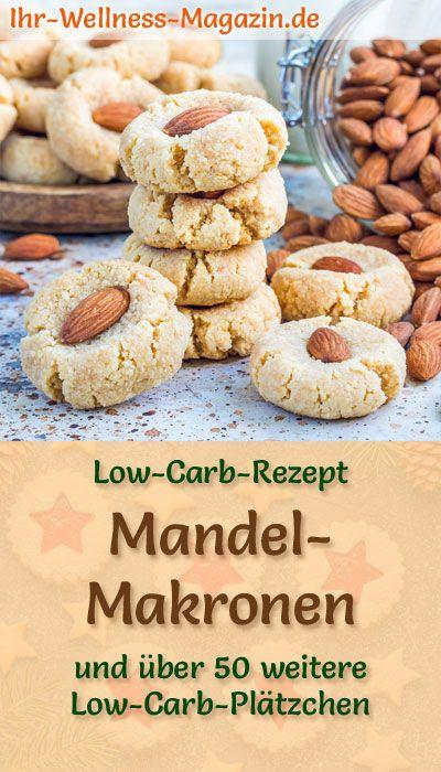 Low Carb Mandelmakronen – einfaches Plätzchen-Rezept für Weihnachtskekse