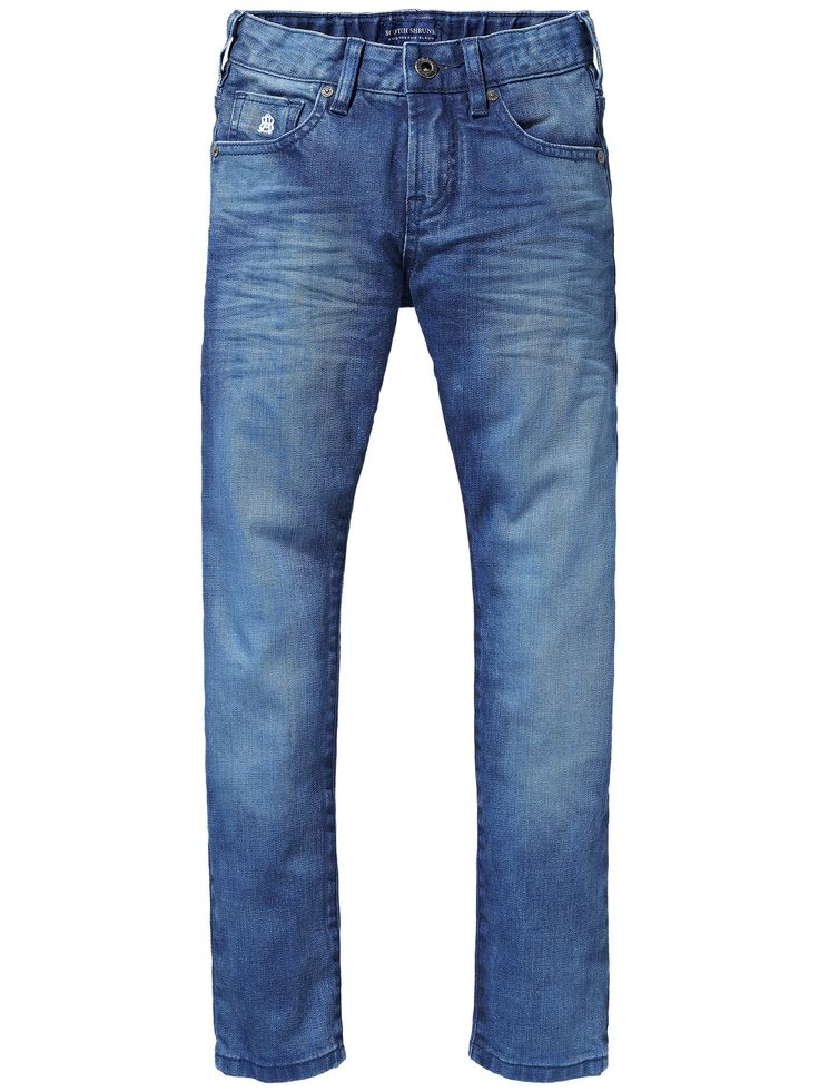 Scotch Shrunk Strummer Jeans Atlantic Blue