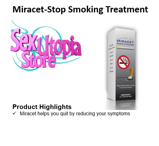 You've decided to stop smoking. That's great, but the damage is likely already done with the harsh toxins of tobacco smoke having polluted your lungs. Miracet can reverse those effects with a formula that helps you stop smoking, and can also improve the health of your lungs with its blend of all-natural ingredients.   Most stop smoking aids continue to pollute your body with nicotine and other toxins as you slowly progress towards a smoke-free lifestyle.