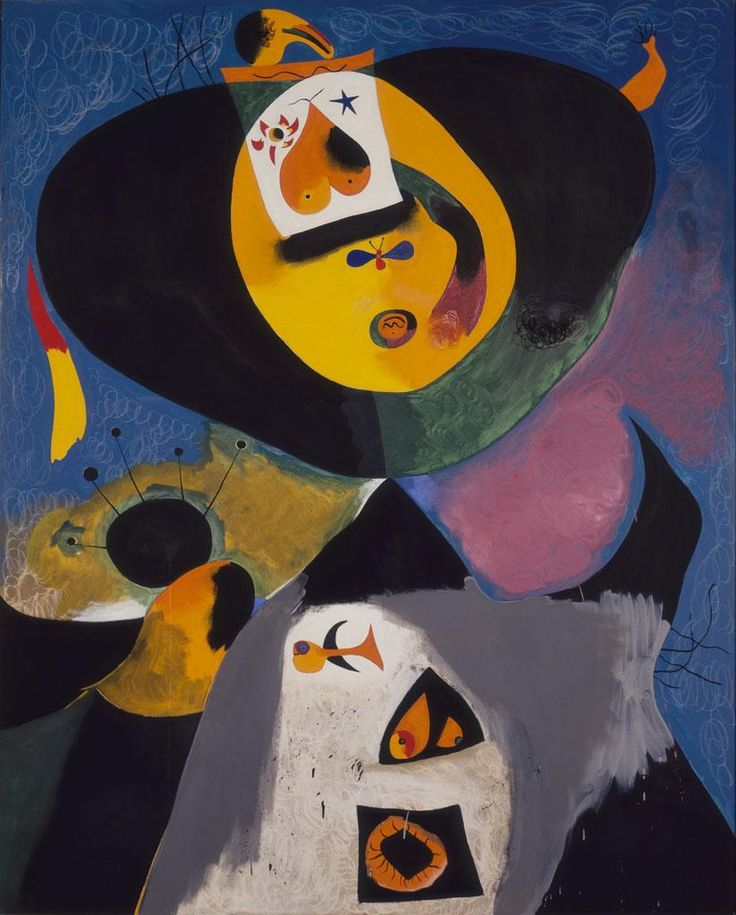 'Portrait No. 1' (1938) by Joan Miró