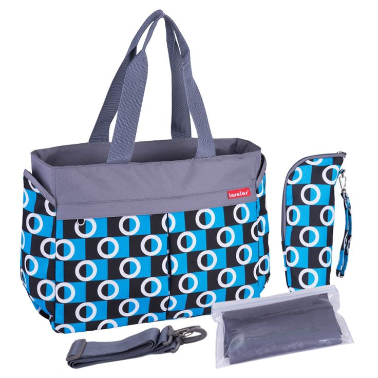 Insular Fashion Multifunctional Baby Diaper Bag Nylon Nappy Changing Bag Blue. Yesterday's price: US $19.46 (15.79 EUR). Today's price: US $18.49 (15.00 EUR). Discount: 5%.