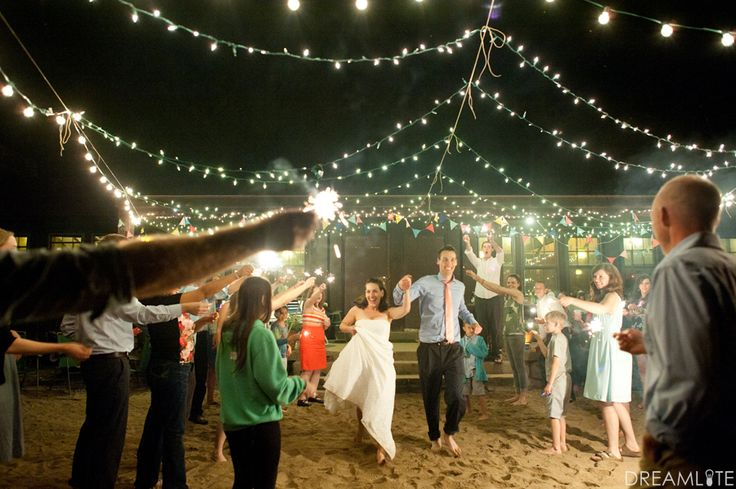 story tell guests about alternative wedding reception