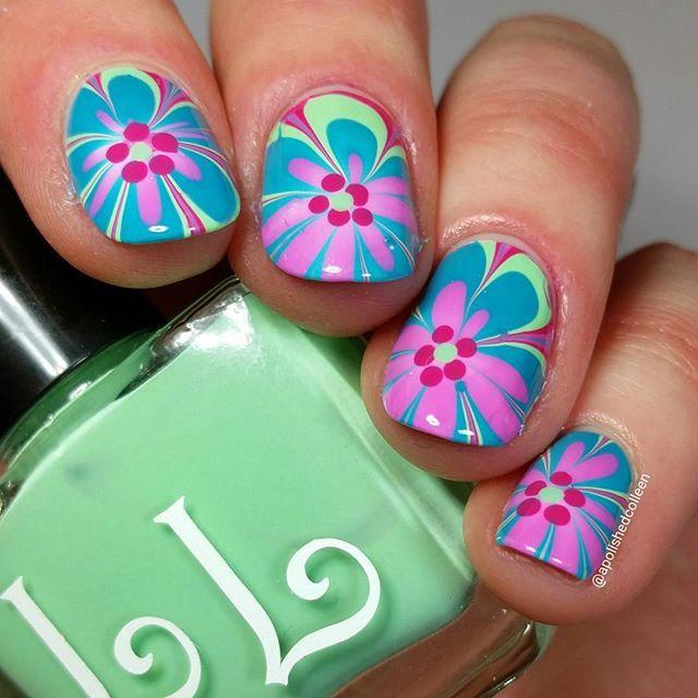 148 best Springtime Nails images on Pinterest | Manicures, Nail art ...