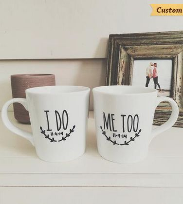 Five for Friday: Drink to the Two of You with Couples Cups