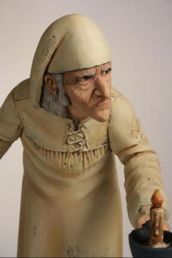 Ebenezer Scrooge-hand carved by Ed Pribyl