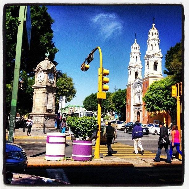 El Gallito Monumento en Puebla