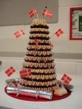 Kransekage - celebration cake!