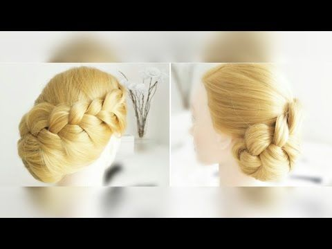 Hair Tutorial   Quick and Easy Updo - YouTube