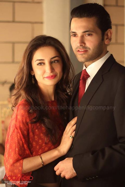 Couples-Who-Are-Living-A-Happily-Married-Life:Sarwat Gillani and Fahad Mirza