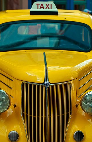 Yellow cab | Flickr - Photo Sharing!