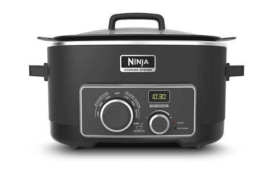 Ninja® Cooking System Homemade Meals. Faster. Easier. Healthier!