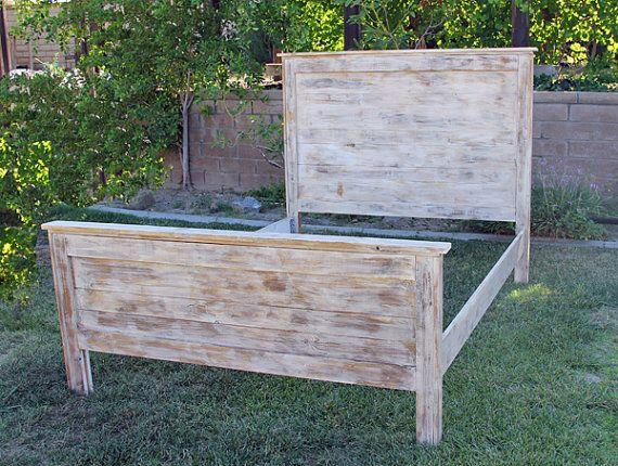 rustic-wood-bed-58-high-tall-boy-by-foo foo la la custom bed