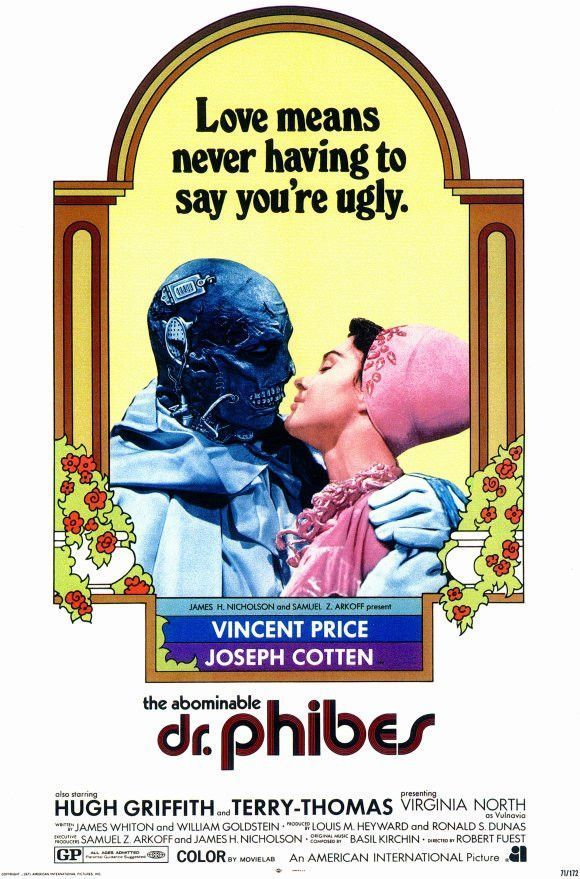 The Abominable Dr Phibes 11x17 Movie Poster 1971