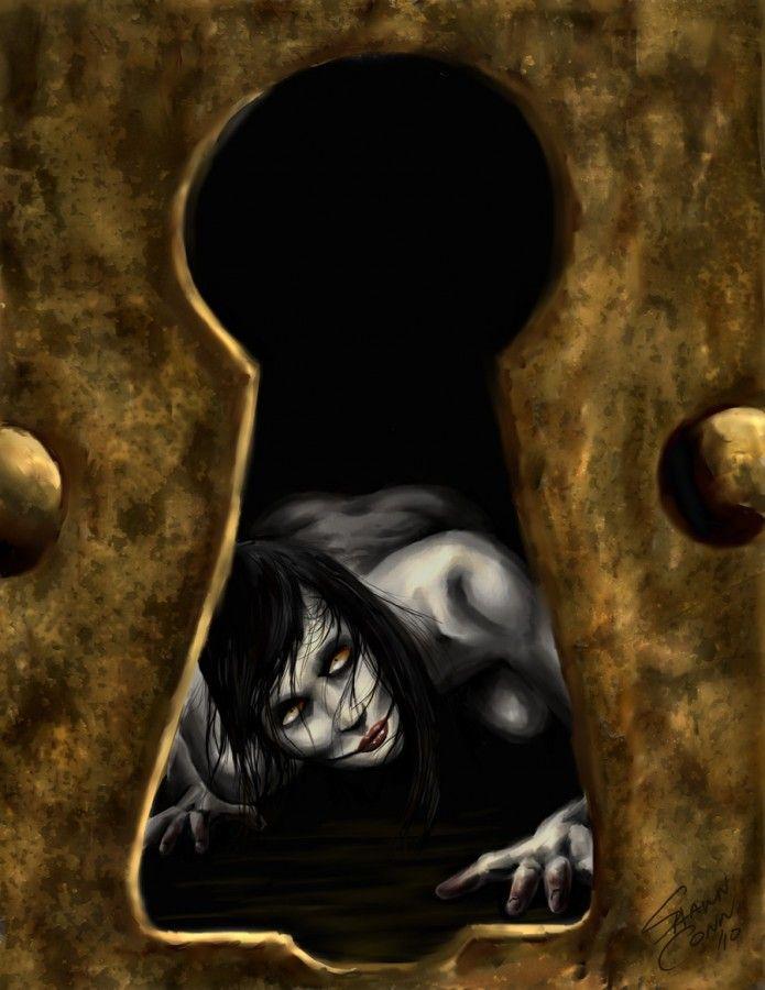 Horror art by Shawn Conn