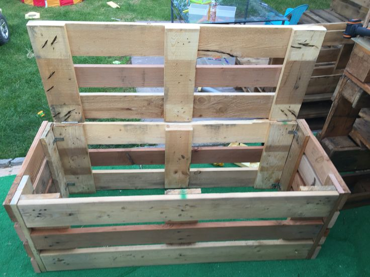 1000 images about design for pallet in the garden on for Panca pallets