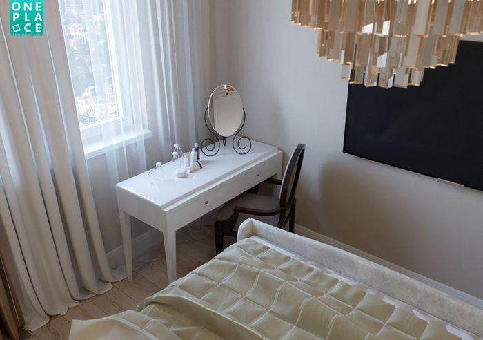 Нежный, легкий и романтичный интерьер в неоклассическом стиле от краснодарской дизайн-студии «OnePlace».