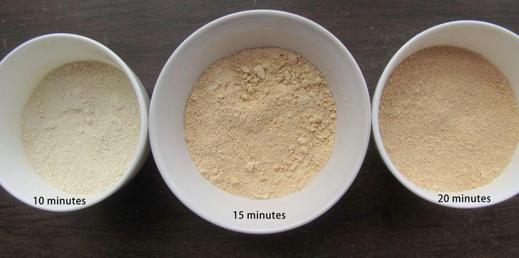 Homemade Quinoa flour ~ use to make tortilla's, bake the tortilla's for homemade chips.  Yum! #FastMetabolismDiet
