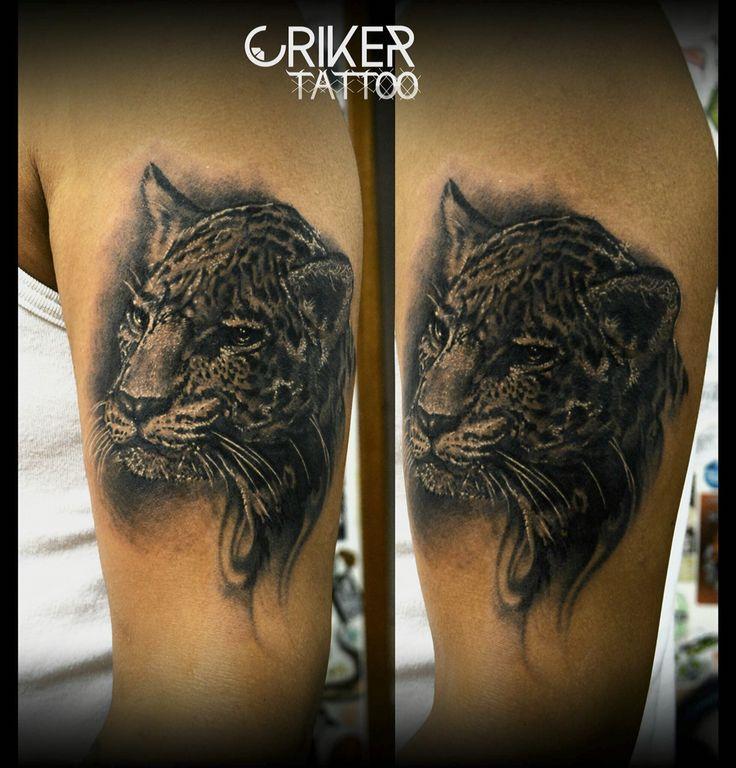 Jaguar realism Tattoo Criker